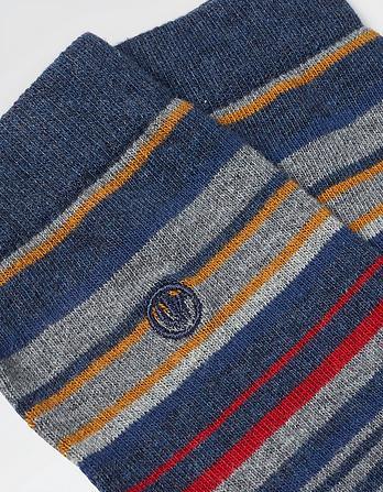 One Pack Leo Stripe Socks
