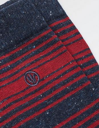 One Pack Dillon Stripe Socks