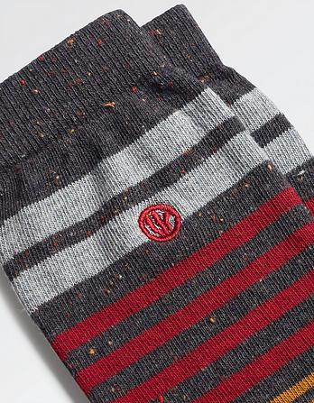One Pack Jake Stripe Socks