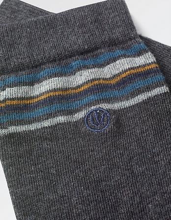 One Pack Freddie Stripe Socks