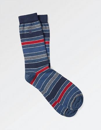One Pack Jay Stripe Socks