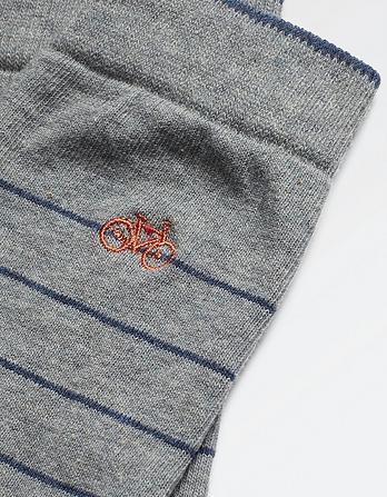 One Pack Bike Embroidery Socks