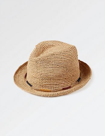 Mens Wrapped Band Trilby