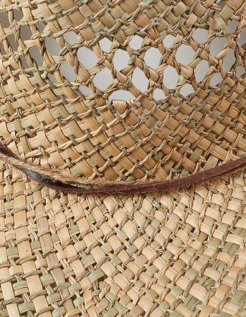 Mens Open Weave Cowboy Hat