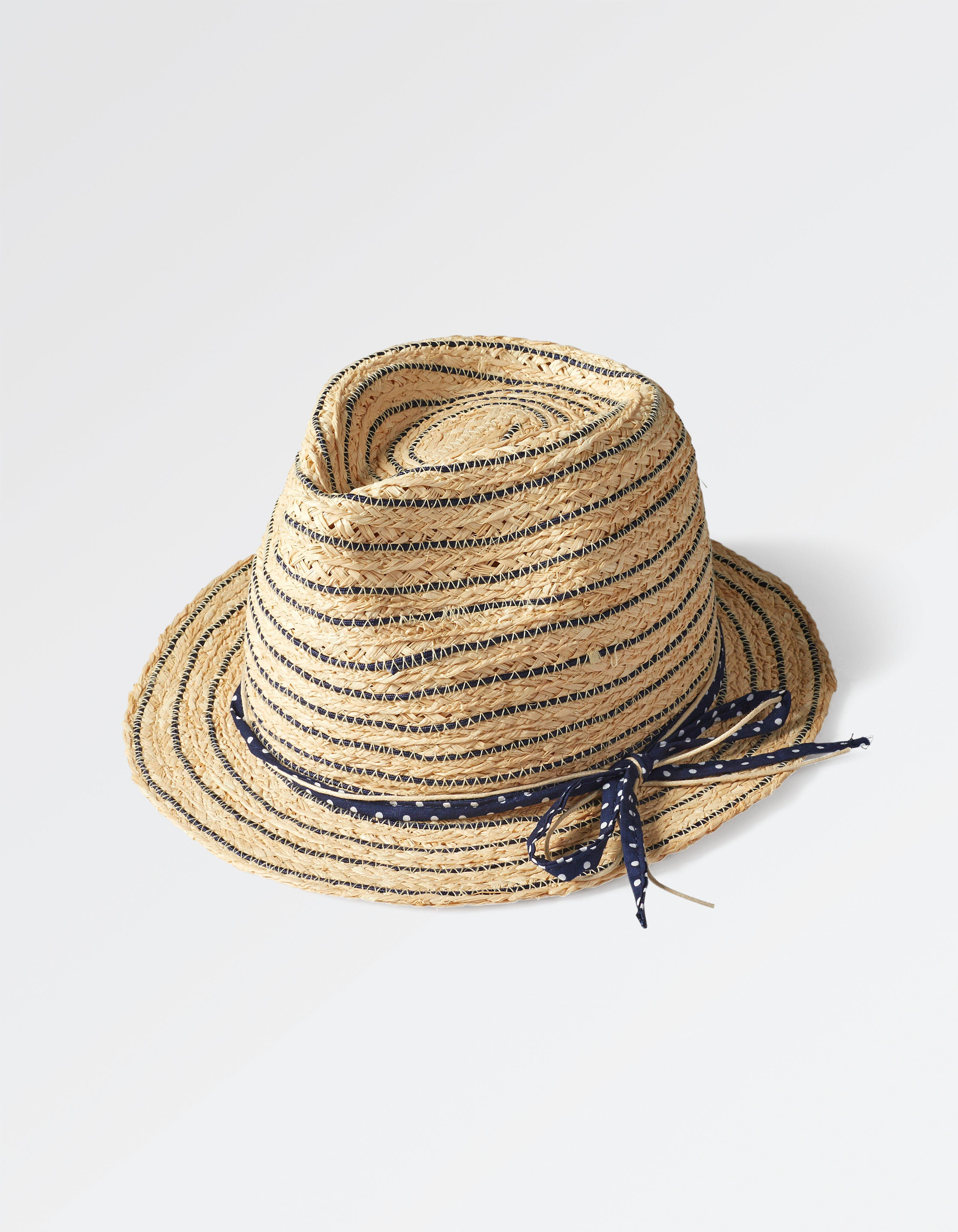 Stripe Spot Band Trilby