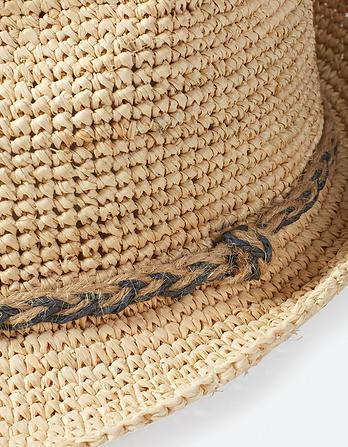 Plaited Band Trilby