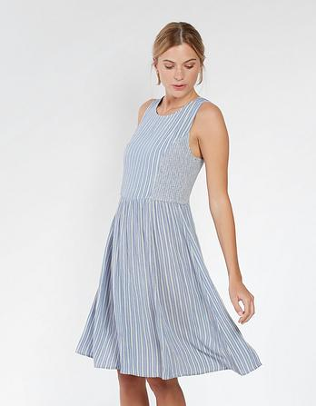 Karen Stripe Dress