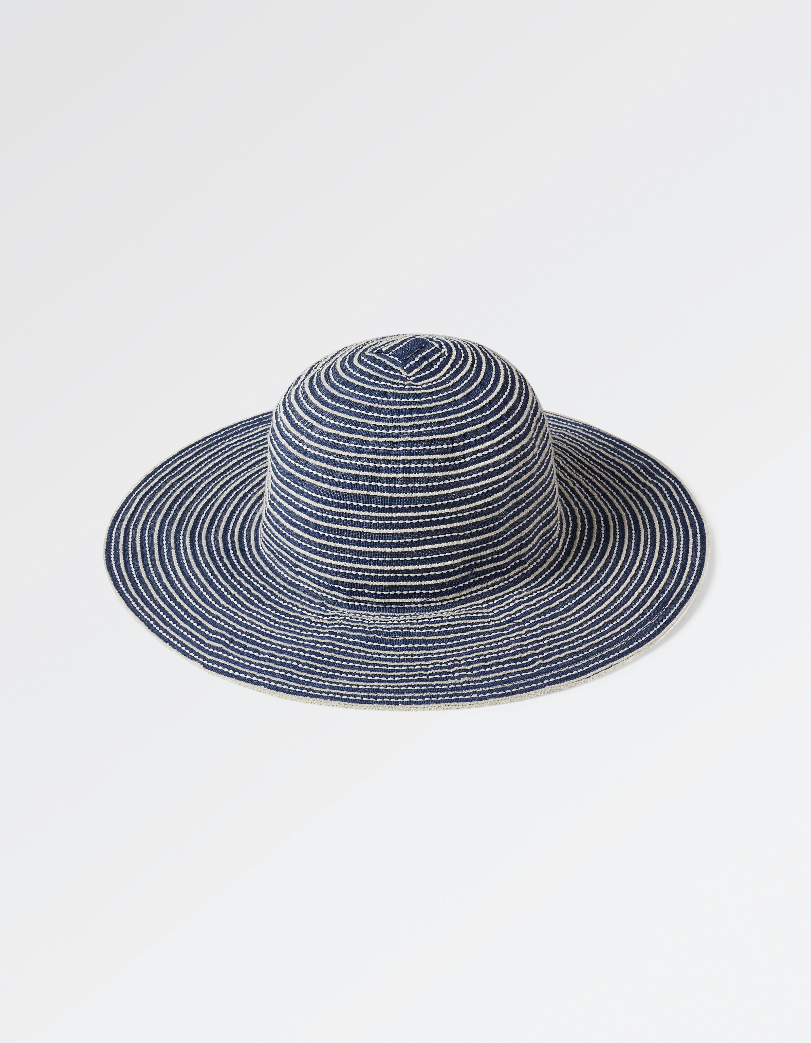 Woven Tape Floppy Hat