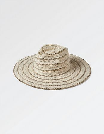 Lace Panama Hat