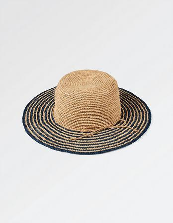 Striped Brim Hat