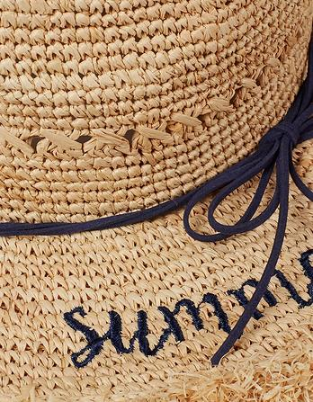 Summertime Panama Straw Hat