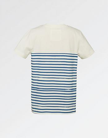 Stripe Sailing Graphic T-Shirt