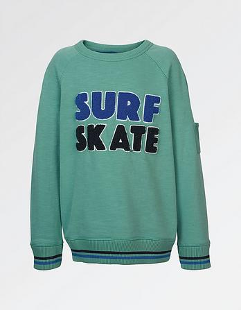Surf Skate Graphic Sweatshirt