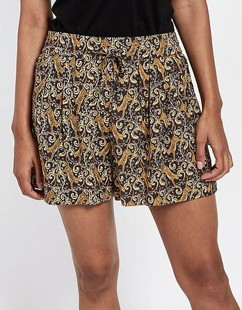 Tiger Vine Flippy Shorts