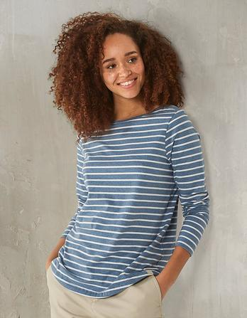 Organic Cotton Breton T Shirt