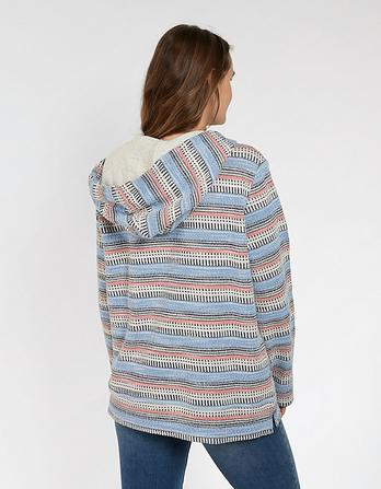 St Ives Patterned Overhead Hoody