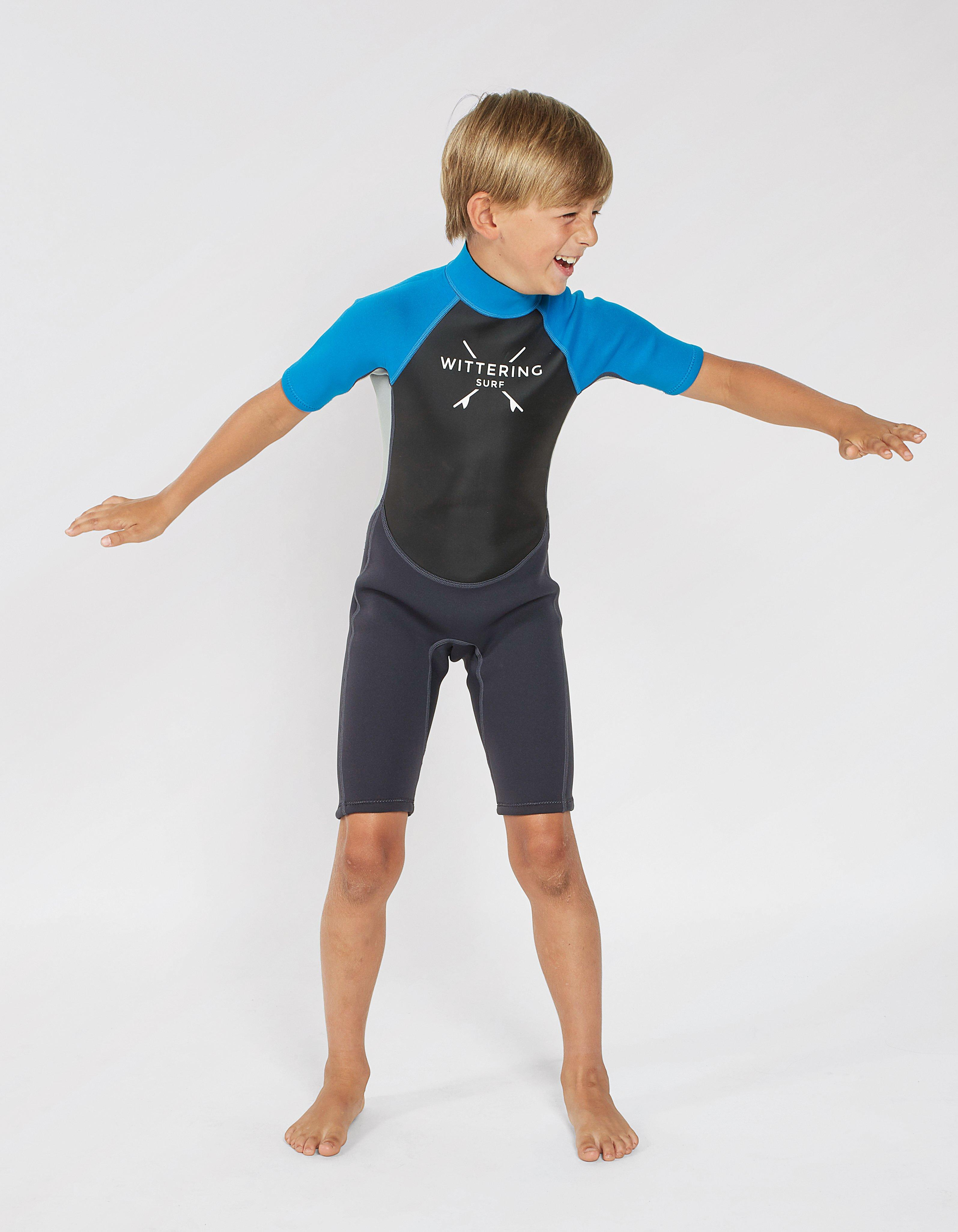 Wittering Surf Kids' Summer Shortie Wetsuit