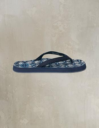 Bay Diamond Ditsy Flip Flops