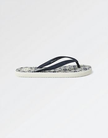 Portloe Mosaic Flip Flop