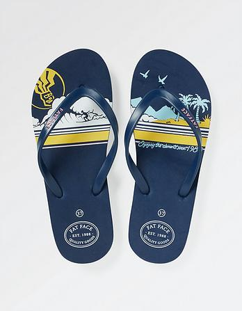Hope Aloa Print Flexi Flops