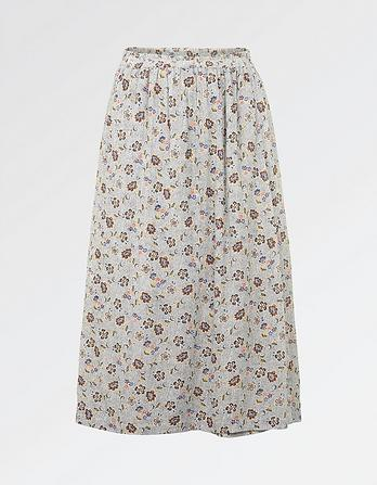 Corinne Trailing Floral Skirt
