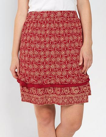 Louise Daisy Ruffle Skirt