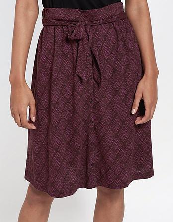 Mina Diamond Stitch Skirt