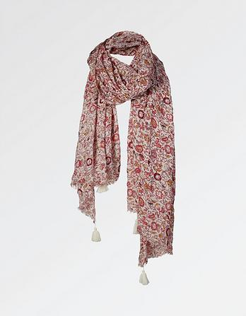Festival Floral Scarf