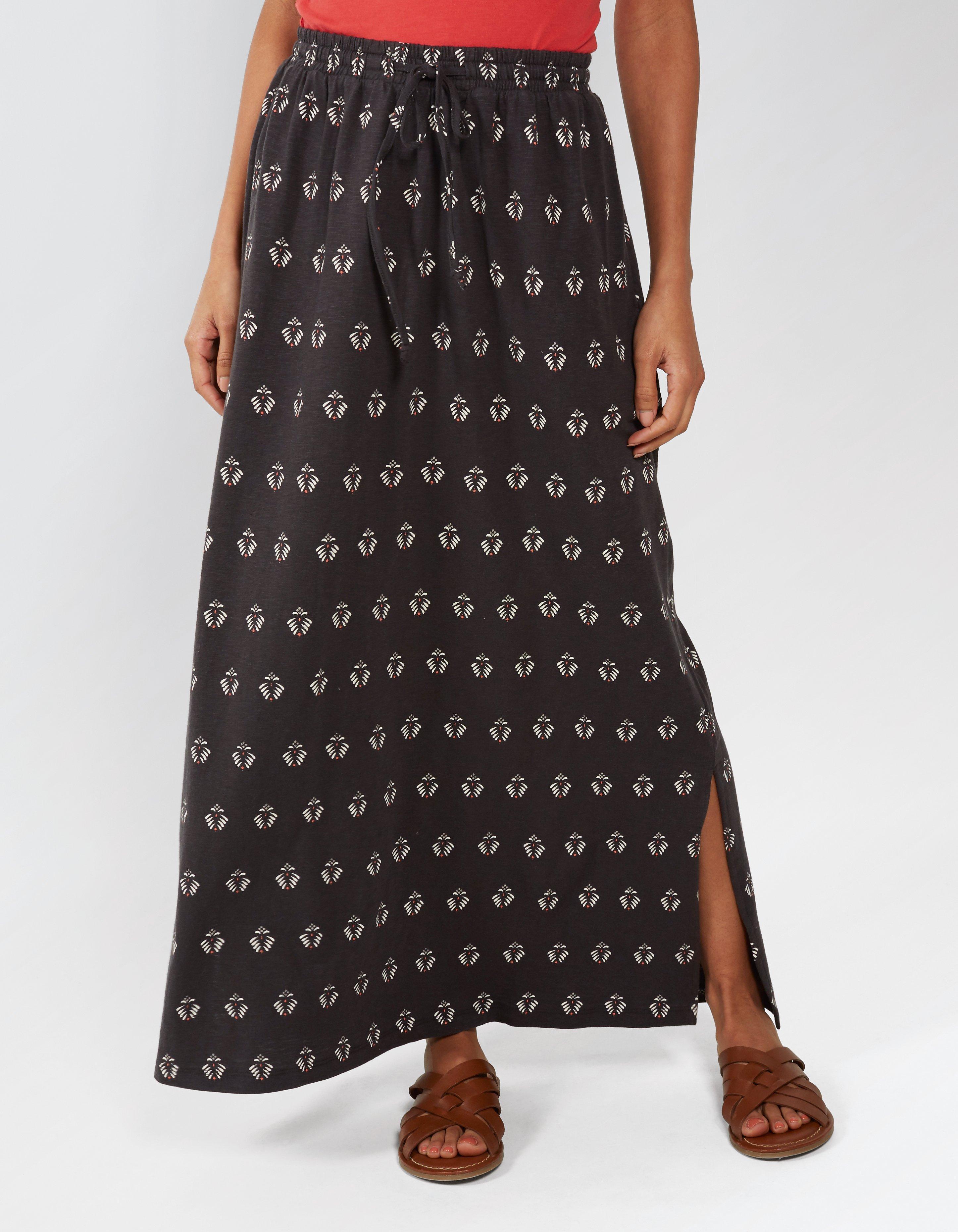 Jessica Gem Geo Maxi Skirt