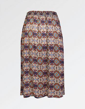 Corinne Kaleidoscope Skirt