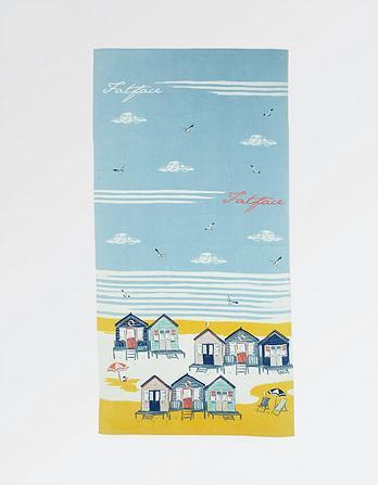 Beach Huts Towel