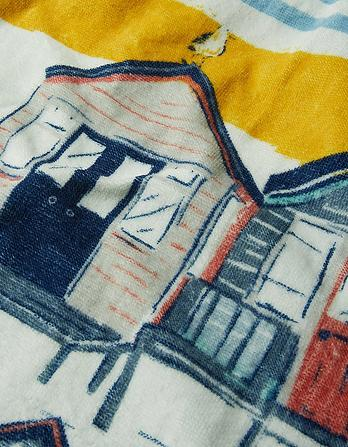 Beach Huts Towel