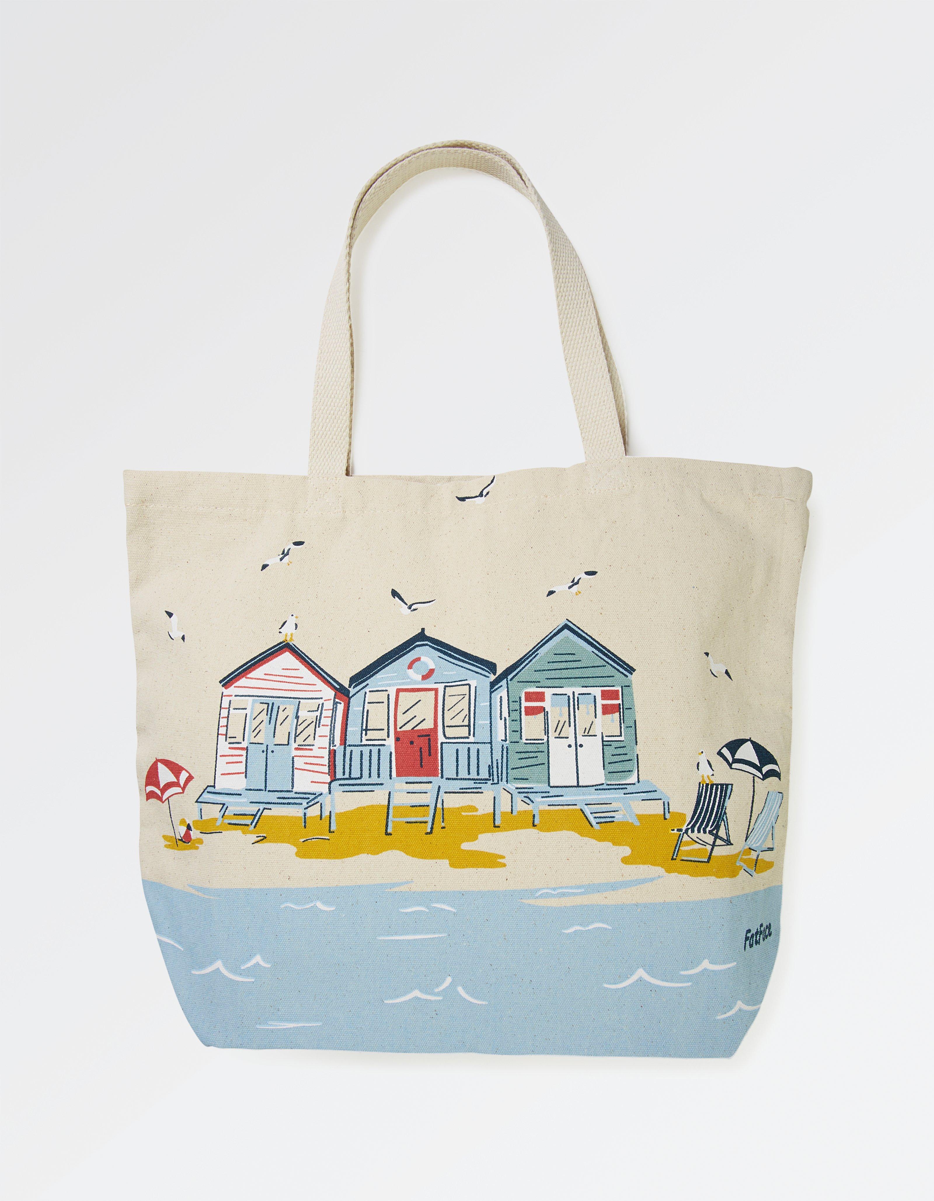 Beach Huts Shopper Bag