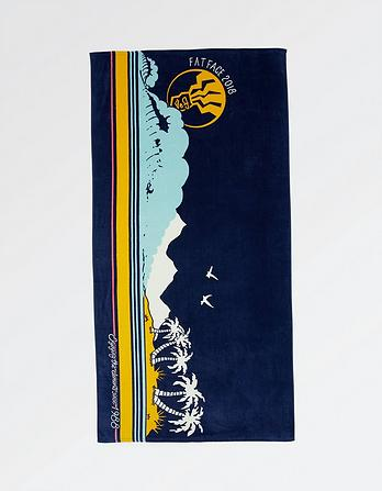Enjoy The Elements Beach Towel