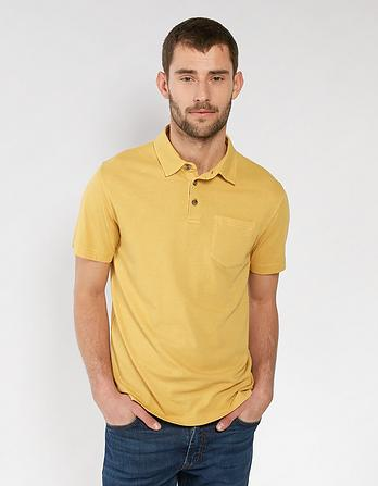 Elm Organic Cotton Lightweight Polo