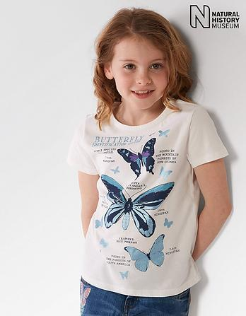 Natural History Museum Butterfly Guide T Shirt