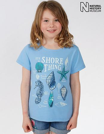 Natural History Museum Shore Thing T Shirt