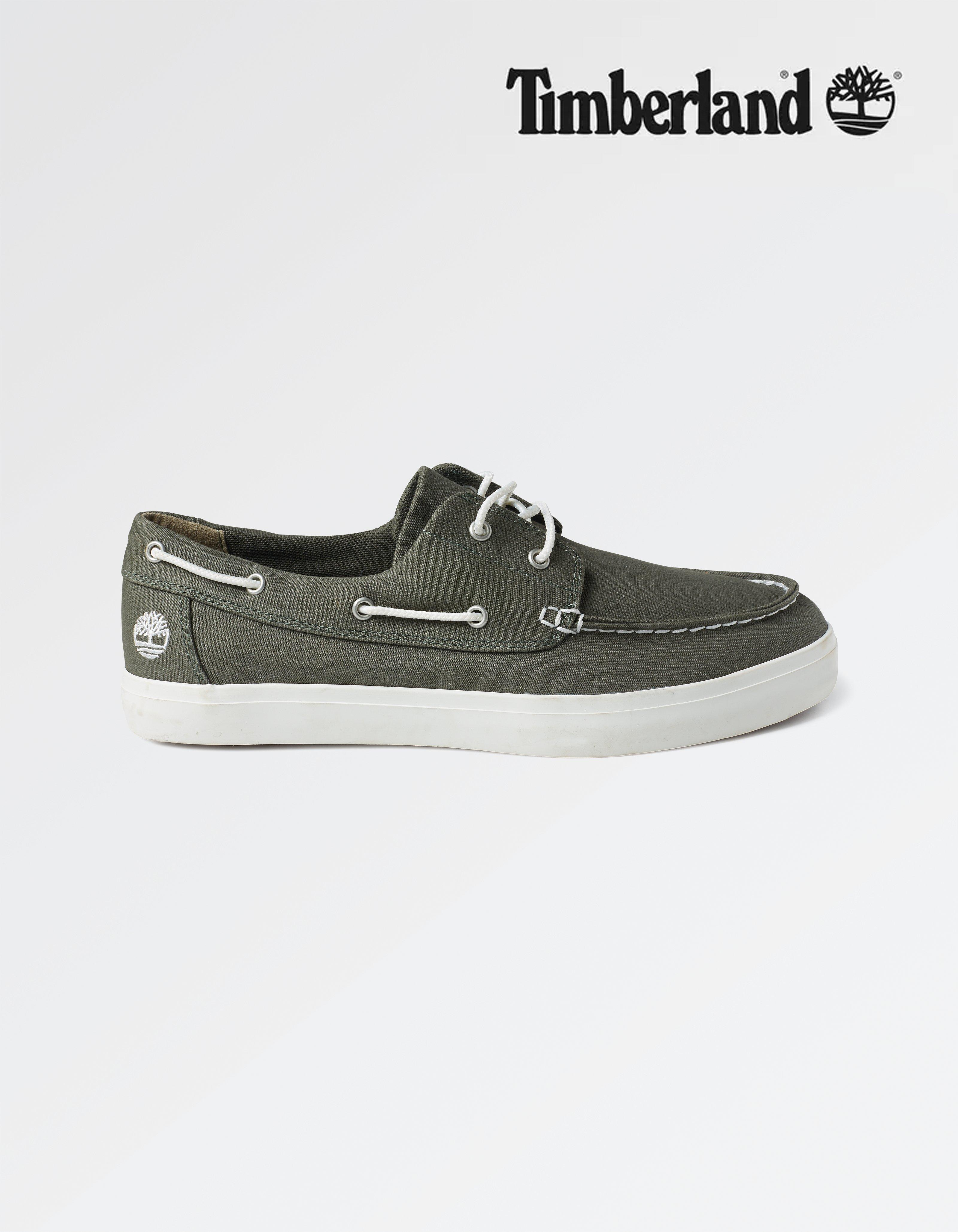 Timberland Canvas Boat Shoes