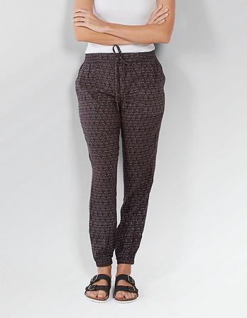Geo Weave Printed Pants