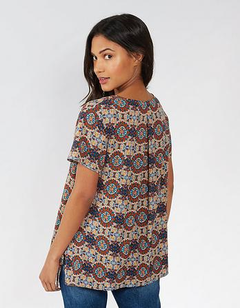 Hollie Kaleidoscope Blouse