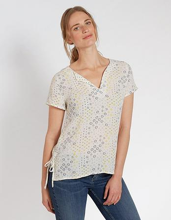 Hollie Geo Ditsy Blouse