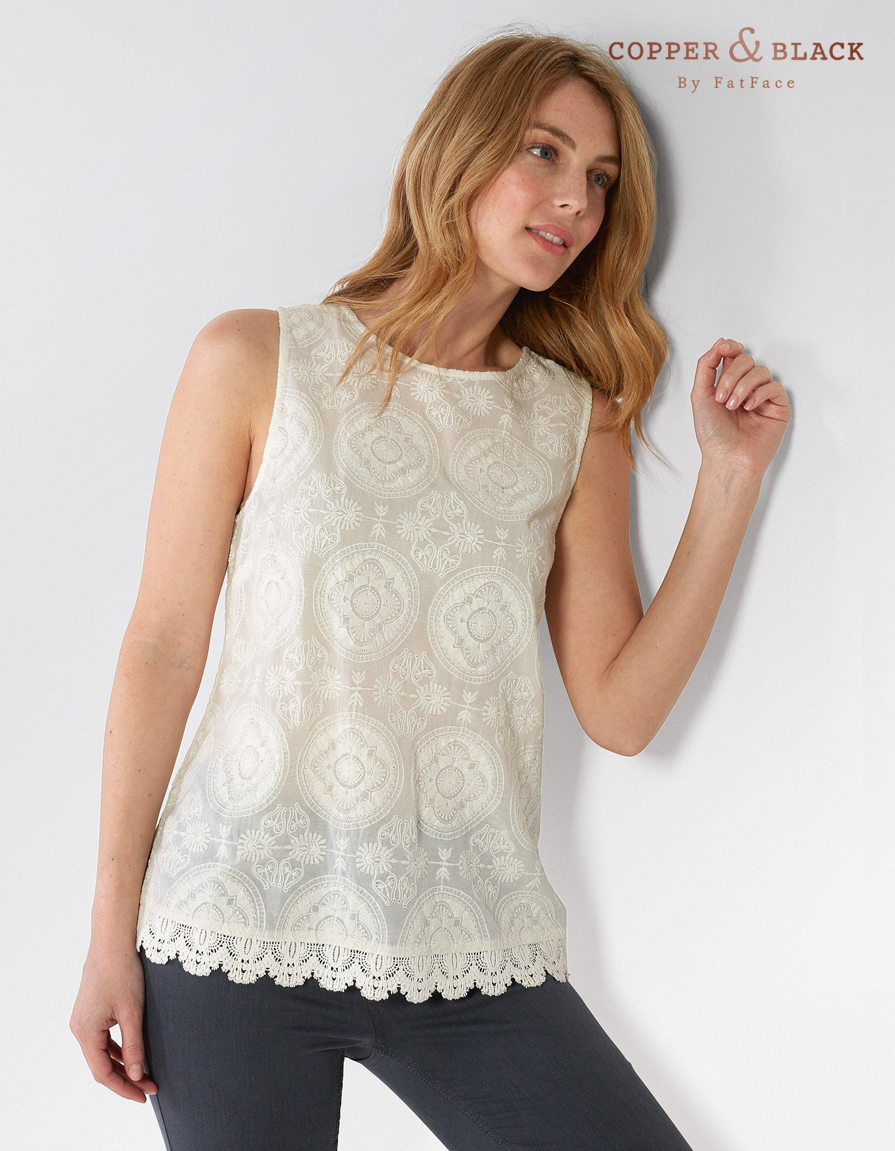 Alyra Embroidered Cami