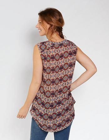 Evie Kaleidoscope Longline Shirt