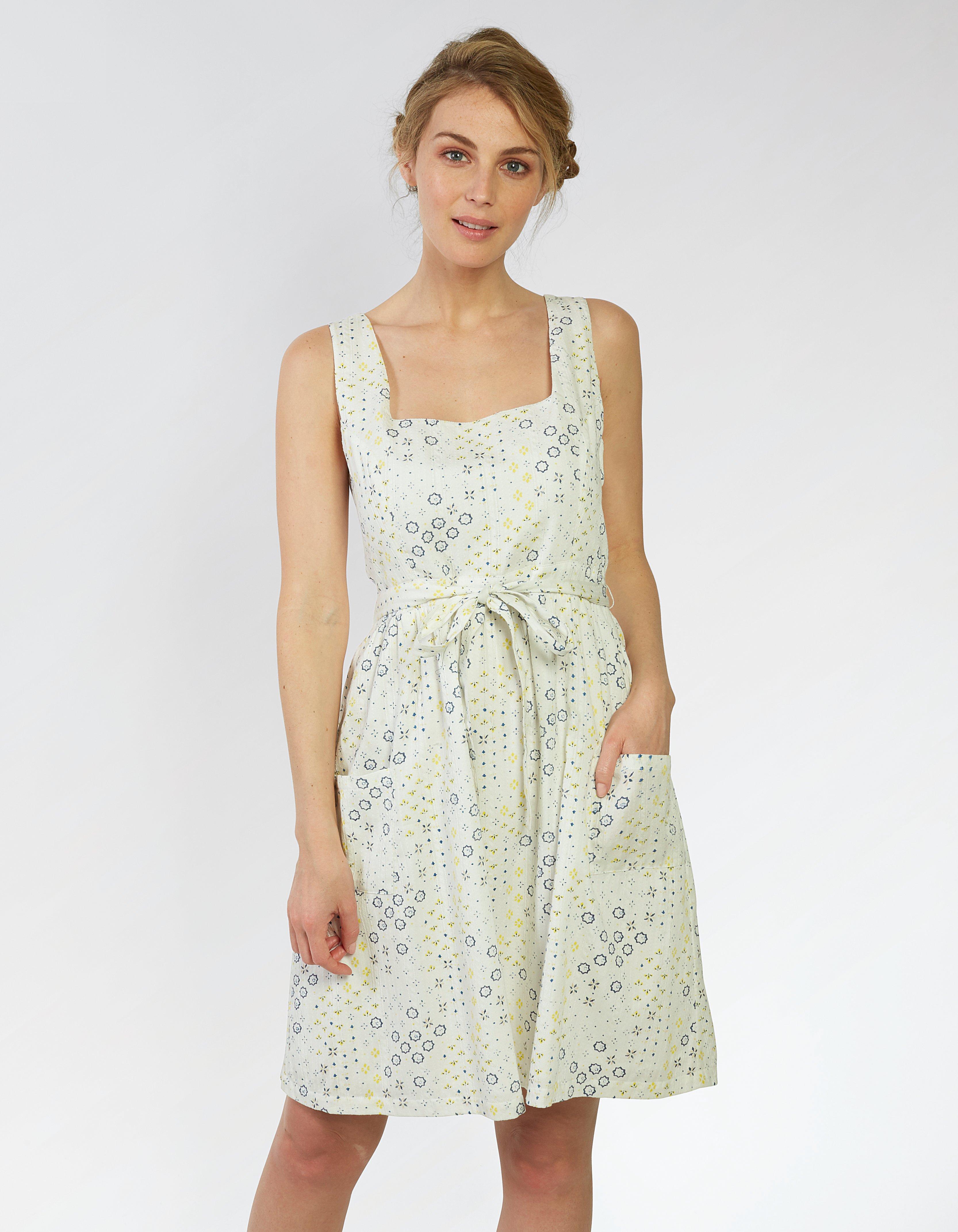 Serena Geo Ditsy Dress