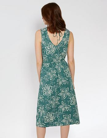 Blair Star Flower Midi Dress