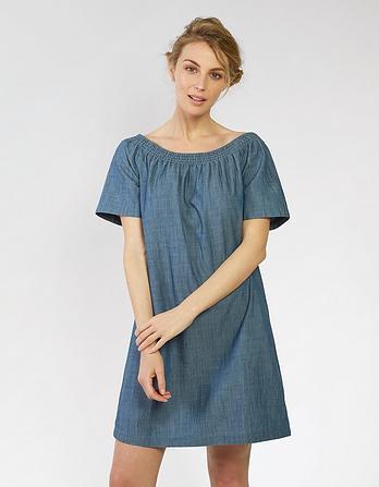 Eleanor Bardot Dress