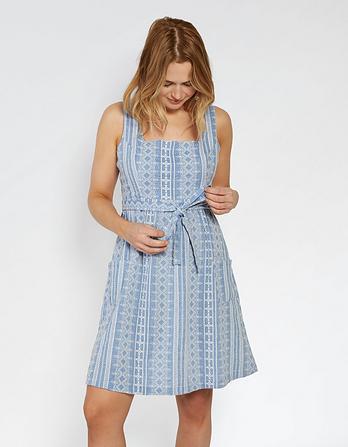 Serena Broderie Dress