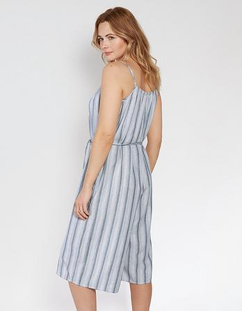 Culotte Stripe Jumpsuit