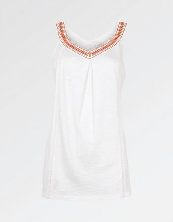 Sybil Embroidered Cami