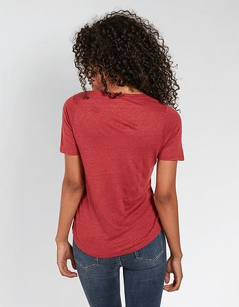 Layla Linen T-Shirt